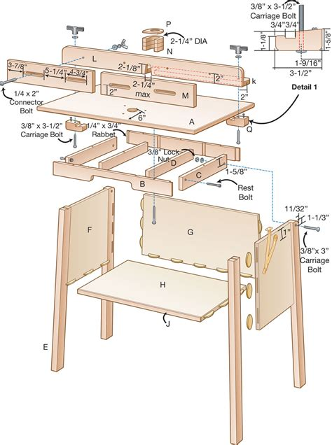 free diy router table plans woodworking projects