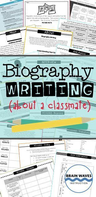 unit 7 biography and autobiography biography sketches and communities unit on pinterest