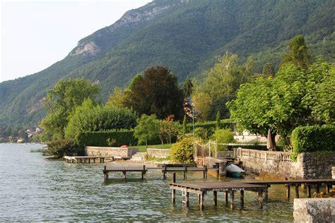 photo gratuite annecy lac maison bord de l eau image