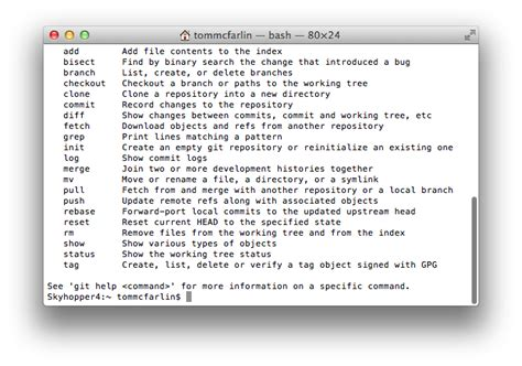 git tutorial mac terminal install git on mac os x for the command line tom