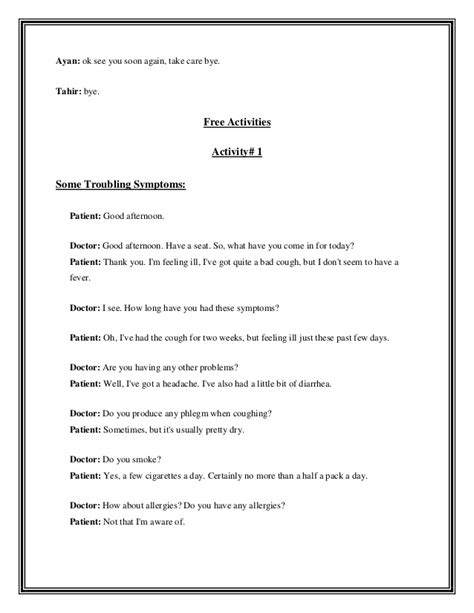 email format good morning lesson plan for speaking skills