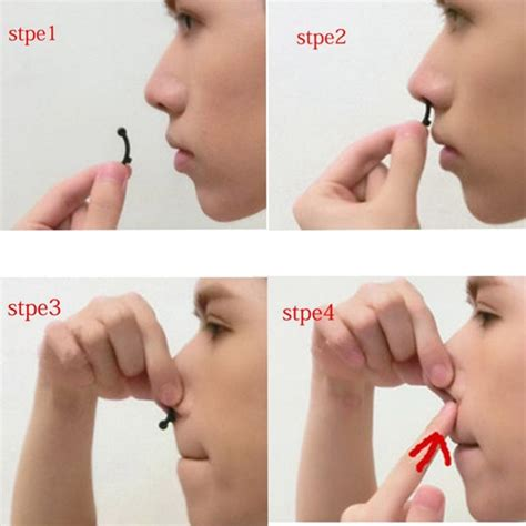 Nose Secret Nose Up 2 secret invisible nose up lifting clip shaper shaping tool