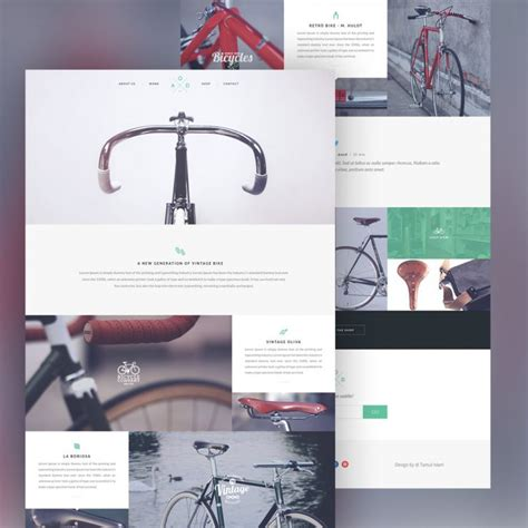 product layout psd product showcase website template free psd download