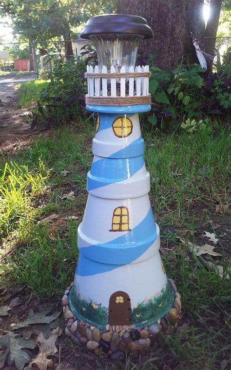 diy lighthouses более 25 лучших идей на тему 171 clay pot lighthouse 187 на