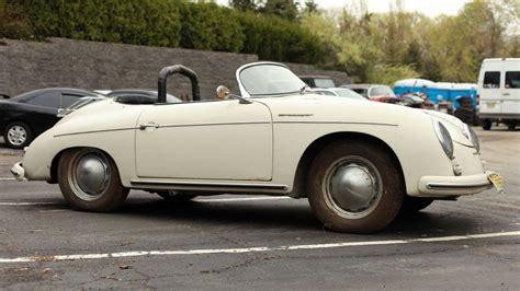 1957 porsche speedster project 1957 porsche 356 speedster
