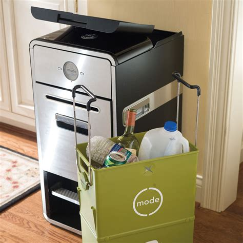 mode all in one home recycling system with mechanical