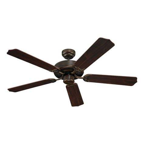 Quality Ceiling Fans by Shop Sea Gull Lighting Quality Max 52 In Russet Bronze