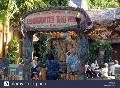 disneyland enchanted tiki room enchanted tiki room disneyland resort magic kingdom anaheim stock photo royalty free image