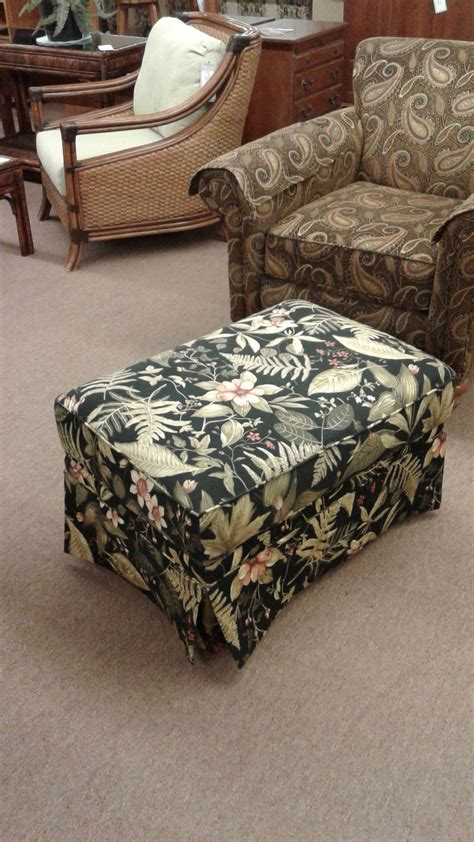 kincaid tropical ottoman delmarva furniture consignment