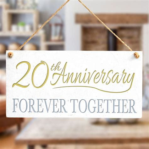 Forever Together 20 20th anniversary forever together home decor