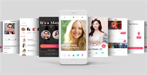 Tinder Like Dating App Template Ui For Ios And Android Download Tinder Like Dating App Mobile Dating App Template