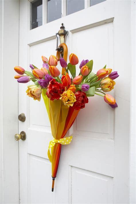 spring decorating ideas for your front door не выбрасывай старый зонт ты будешь в восторге от того