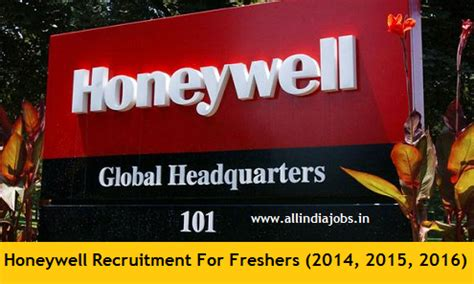Careers For Mba Freshers 2015 by Honeywell Recruitment 2018 2019 Openings For Freshers
