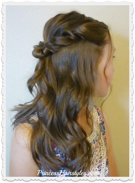pretty kiddies hairstyles prom hairstyle romantic twist half up hairstyles for
