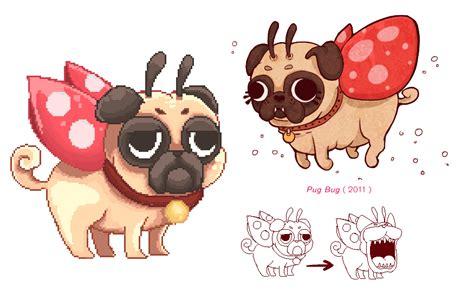 pug bug pug bug wip by cuboidal on deviantart