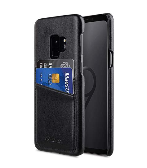 9 Samsung Cases Pu Leather Dual Card Slots Back Cover For Samsung Galaxy S9