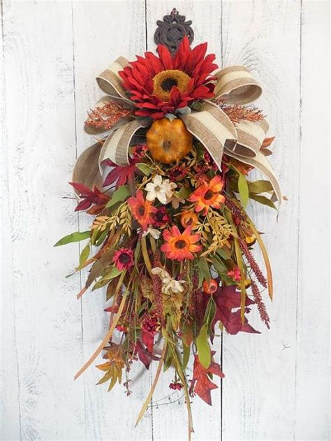 swags and wreaths best 10 door swag ideas on swags for doors