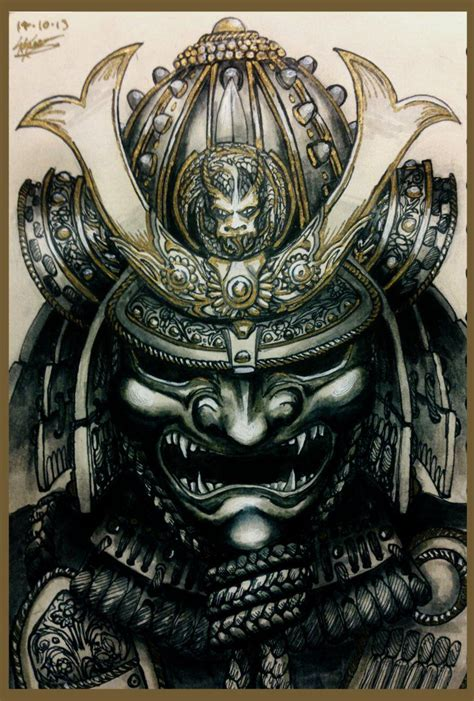 samurai mask tattoo 25 best ideas about samurai on samurai