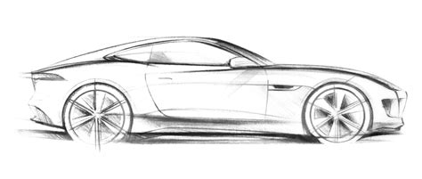 ferrari sketch drawn ferrari jaguar car pencil and in color drawn