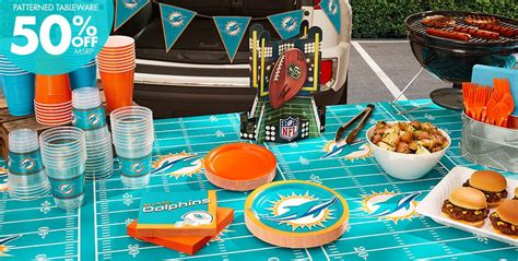 Nfl Decorations Nfl Miami Dolphins Supplies City