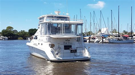 cabin boats for sale qld sea ray 420 aft cabin power boats boats online for