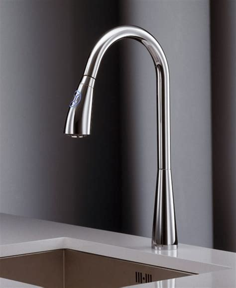 kitchen touch faucets touch sensor kitchen faucet by newform