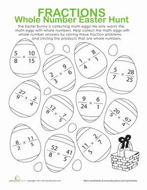easter coloring pages for middle school number names worksheets 187 free fraction worksheet free