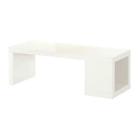 Ikea Lack Coffee Table Dimensions Lack Coffee Table High Gloss White By Ikea 79 99 One Open Compartment For Storing