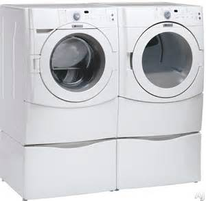 Maytag Washer Dryer Pedestal Maytag Mhw4200bw 27 Quot Front Load Washer With 4 1 Cu Ft