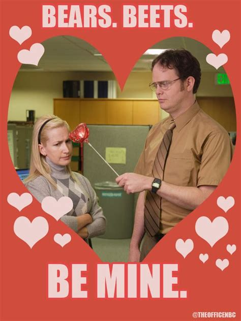 the office valentines day cards dwight and angela s day theoffice valentines day day