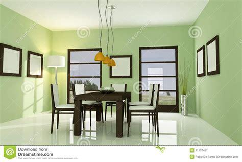 modernes zeitgenössisches wohnzimmer zeitgen 246 ssisches gr 252 nes esszimmer lizenzfreie