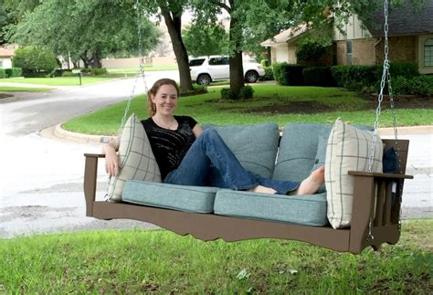 hanging couch swing 12 diy swing bed ideas to enjoy floating in mid air homecrux
