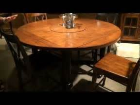 Dining Room Tables Expandable delcastle square round convertible height dining table by