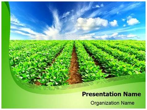 Countryside Agricultural Farming Powerpoint Template Background Subscriptiontemplates Com Agriculture Powerpoint Templates