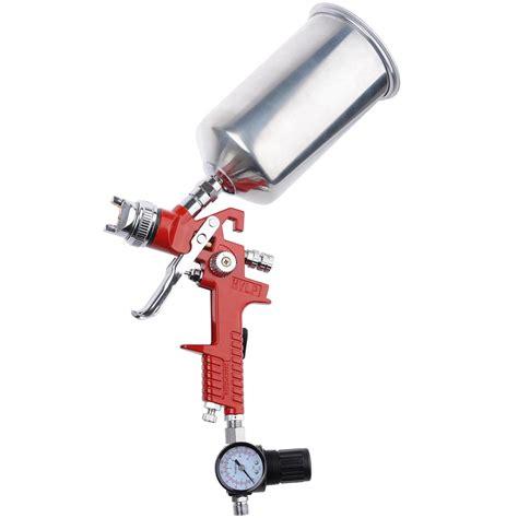 Paint Zoom Paint Gun Spray Gun Set Merk Mollar Alat Penyemprot Murah hvlp spray gun 1 3 1 4 2 5mm tip auto paint gravity