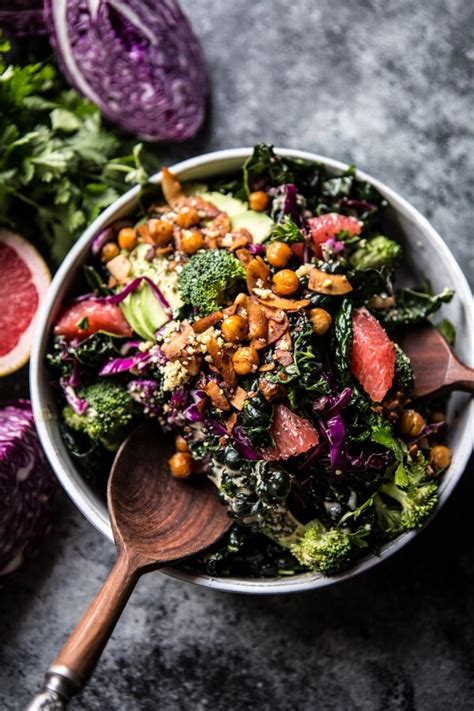 Green Detox Salads by Half Baked Harvest Made With