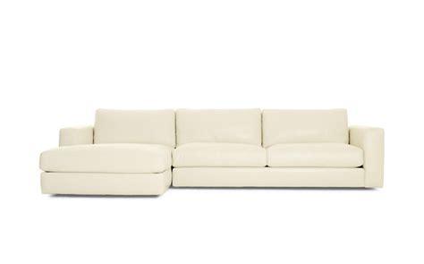 reid sofa dwr reid sectional chaise design within reach