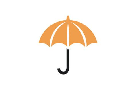 Simple Umbrella by Simple Umbrella Vector Graphic By Friendesign