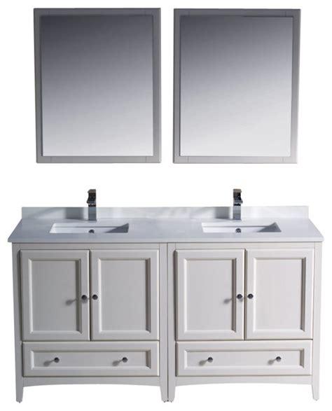 houzz bathroom vanity shop houzz fresca 60 quot double sink bathroom vanity