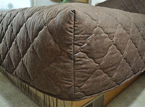 travel trailer bedding solid color coffee brown short queen rv bedspread 3 pc set cer rv travel trailer