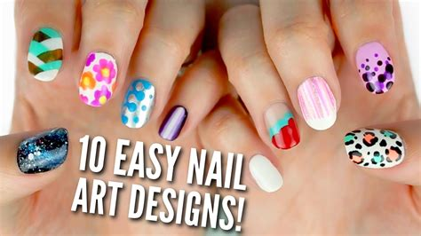 Easy Nail Designs by 10 Easy Nail Designs For Beginners The Ultimate Guide