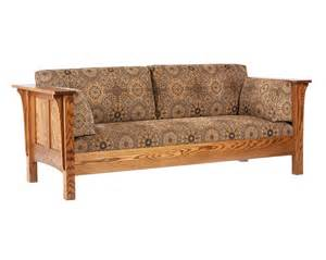 Mission Style Coffee Table Shaker Sofa Amish Furniture Designed
