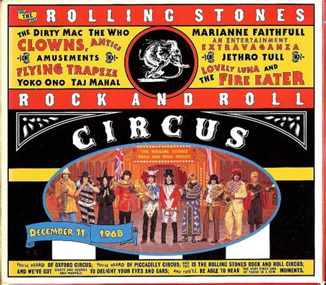 Circo Rok various the rolling stones rock and roll circus cd