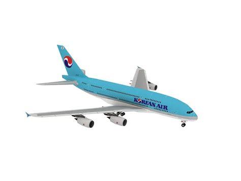 Diy Miniatur Papercraft Pesawat Airbus A380 800 Thai jual diy miniatur papercraft pesawat airbus a380 korean