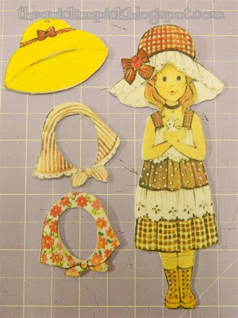 Rhimax Durable Felt Paper by The Unpick Tutorial Turn Your Vintage Paper Dolls