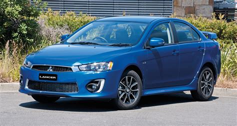 mitsubishi lancer 2016 mitsubishi lancer facelift brings extra equipment to