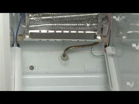 ge door refrigerator not cooling ge refrigerator isn t defrosting defrost heater