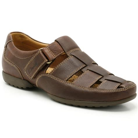 mens sandals clarks recline open mens wide casual shoes clarks from