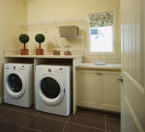 Gray Laminate Laundry Room Countertops Design Ideas