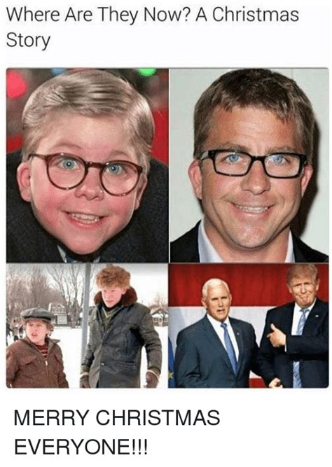 Christmas Story Meme - where are they now a christmas story merry christmas